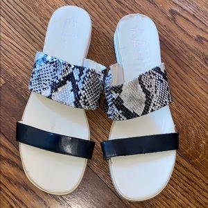 Franco Sarto never worn leather sandal